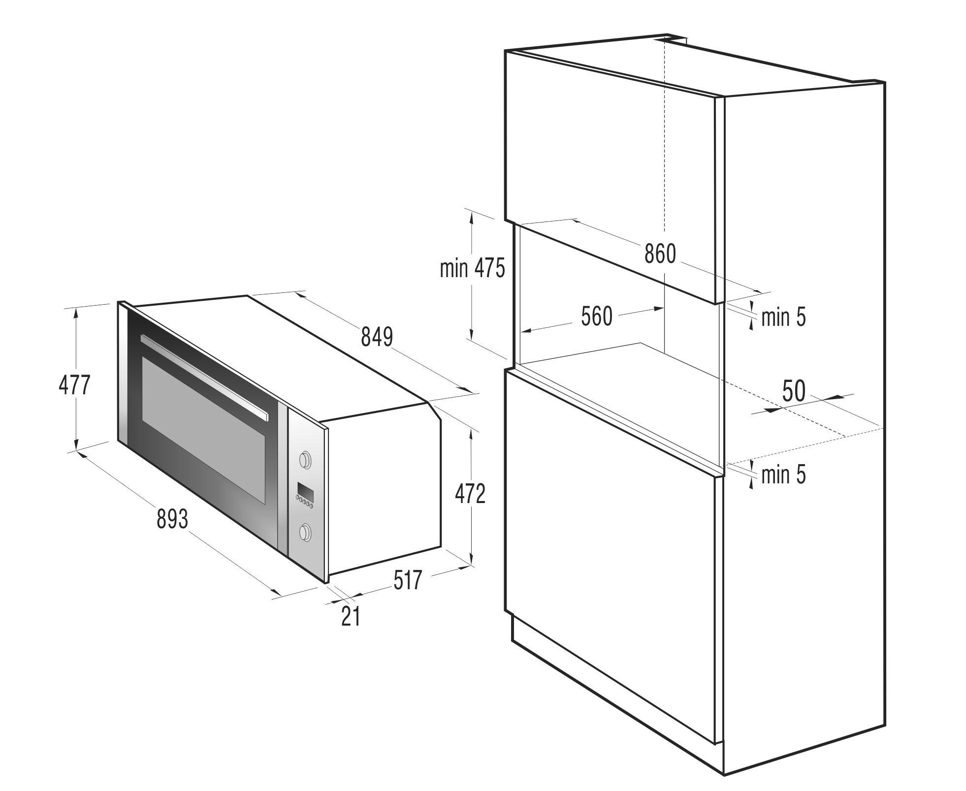 standard built in microwave dimensions bestmicrowave